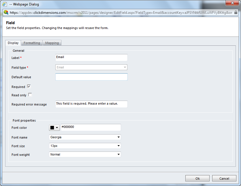 Create a Form with the Form Builder – ClickDimensions Support