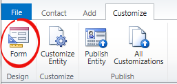 customize contact button