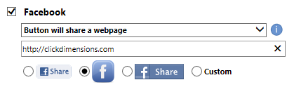 facebook options 2
