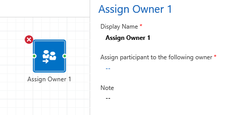 Assign Owner Empty