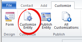 customize form button