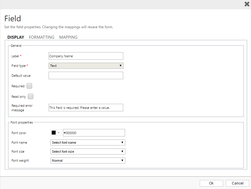Mapping Form Fields To Lookup Fields Clickdimensions Support