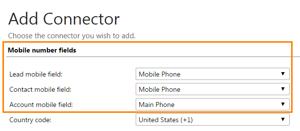 BulkSMS Settings – ClickDimensions Support