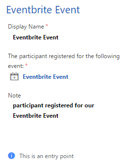 registered for event trigger fields 2