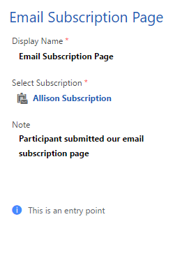 submitted subscription trigger settings 2