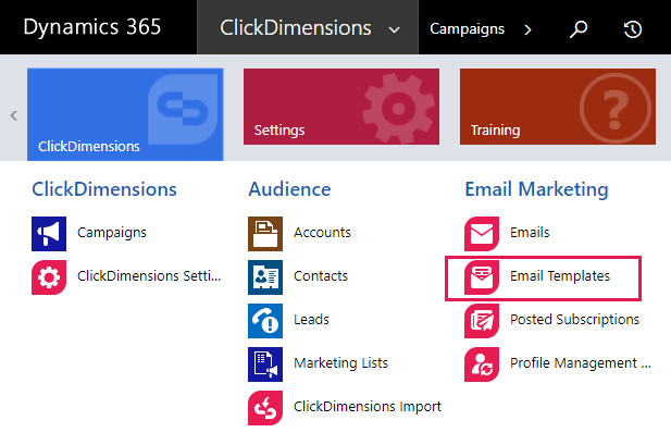 Quick Send Emails – ClickDimensions Support