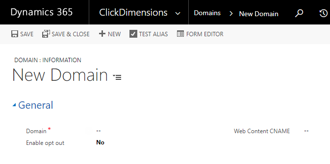 Setup Domain Records – ClickDimensions Support