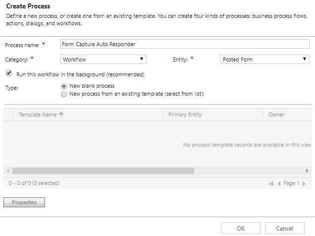 How To Send A Form Capture Auto Responder Email Clickdimensions