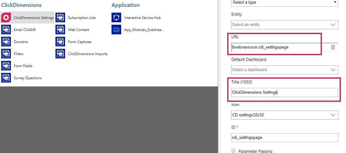 ClickDimensions Settings Security Error – ClickDimensions