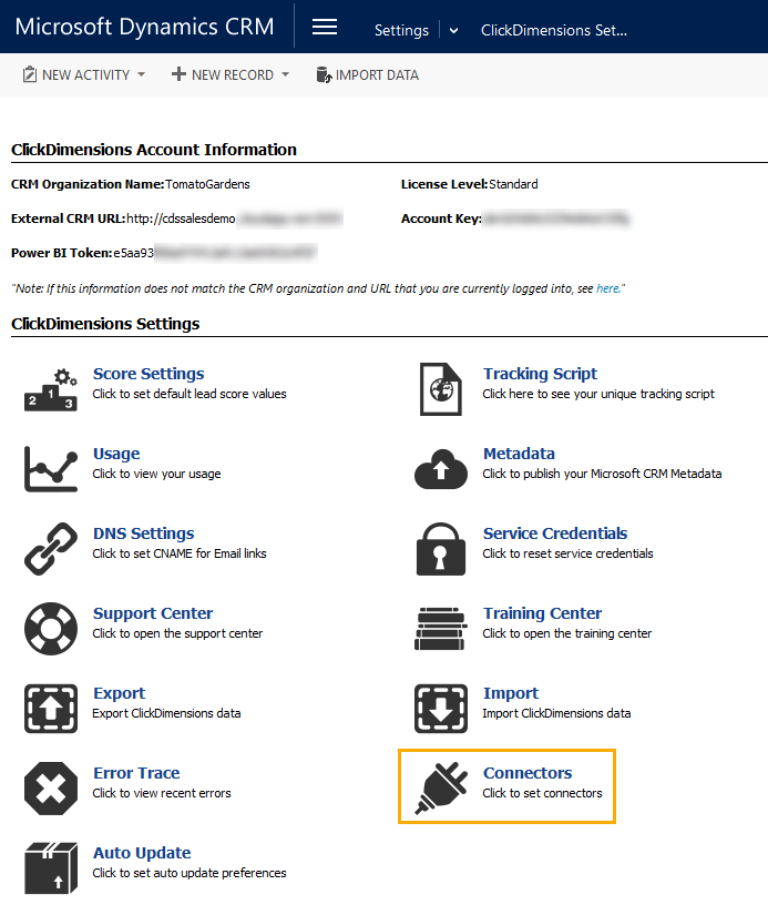 Set Up an RSS to Email Connector – ClickDimensions Support